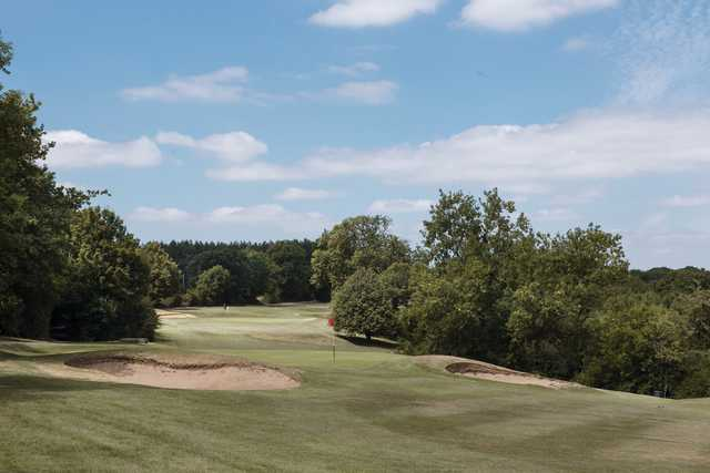 View of the 2nd green at Rushcliffe Golf Club