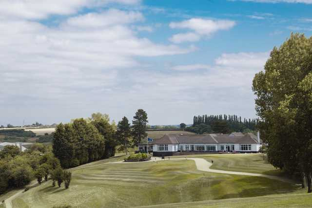View of the clubhouse at Rushcliffe Golf Club