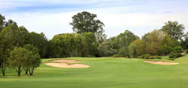 View of the 1st green at Brisbane Golf Club
