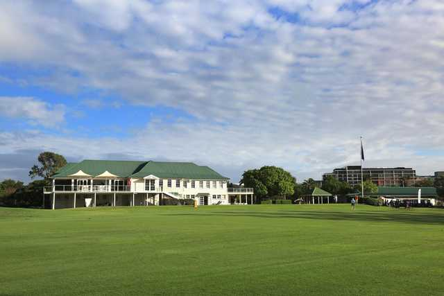 A view from Brisbane Golf Club
