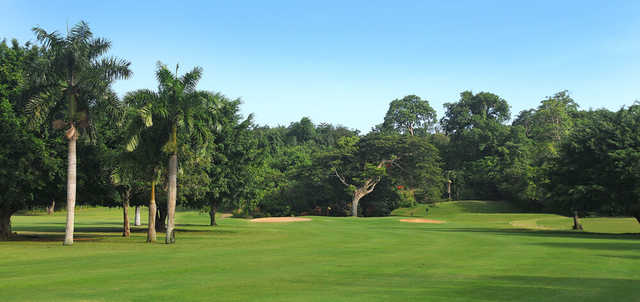 View of the 1st hole at Caymanas Golf & Country Club