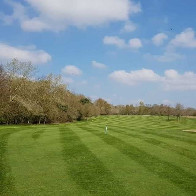 View from a fairway at Wellow Golf Club