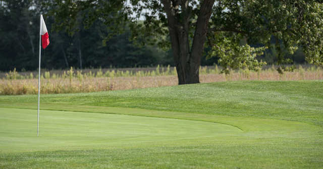 View of a green at Pine Brook Golf Links