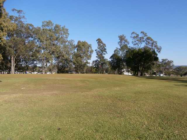 A view of a hole at Gatton Jubilee Golf Club.