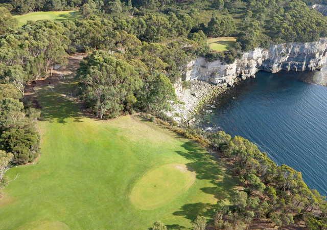 A view from Tasman Golf Club