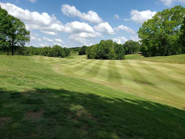 View from a fairway at RiverWatch Golf Club