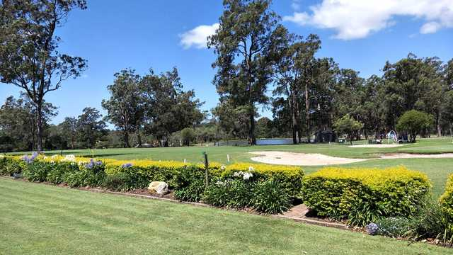 A view from Kempsey Golf Club