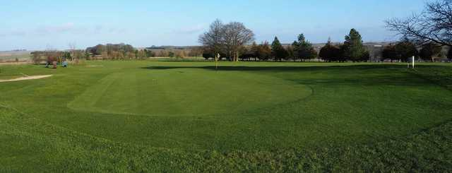 A view of hole #3 at West Wilts Golf Club.