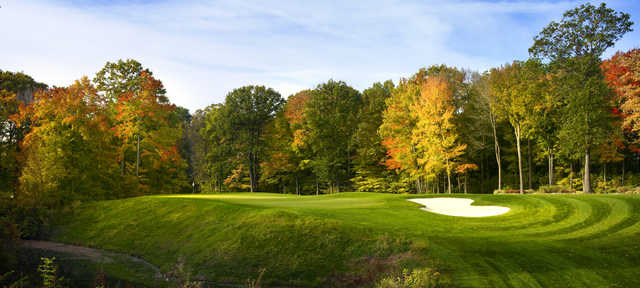 View of the 2nd green at Point O'Woods Country Club