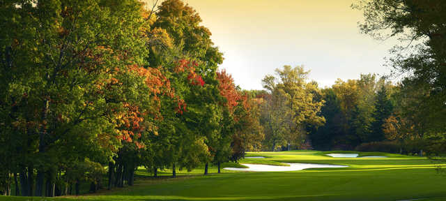 View of the 10th hole at Point O'Woods Country Club