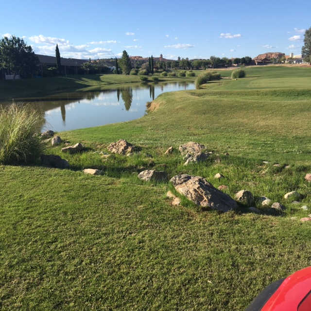 A view from Coyote Willows Golf Club