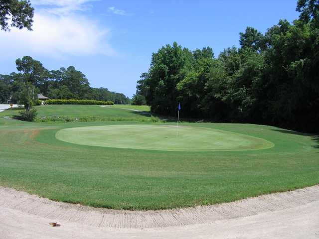A view of a hole at Olde Point Golf & Country Club.