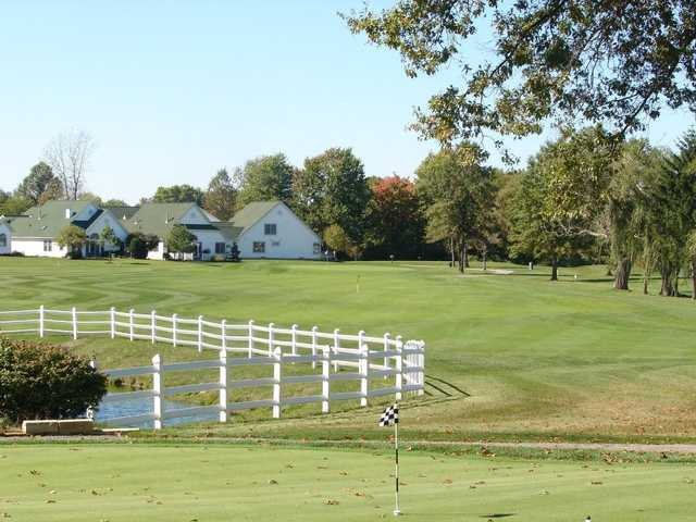 A view of hole #1 at North Olmsted Golf Club.
