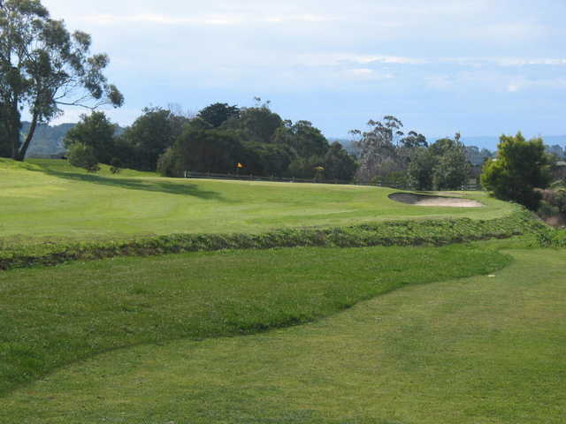 View of a green at Garfield Golf Club