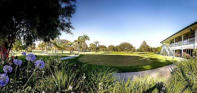 A view from Wynnum Golf Club