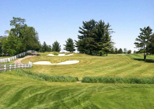 A view of hole #10 at Kyber Run Golf Course.