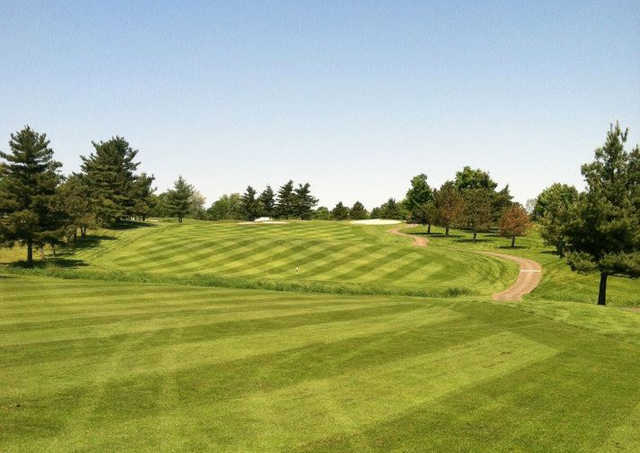 A view of fairway #1 at Kyber Run Golf Course.