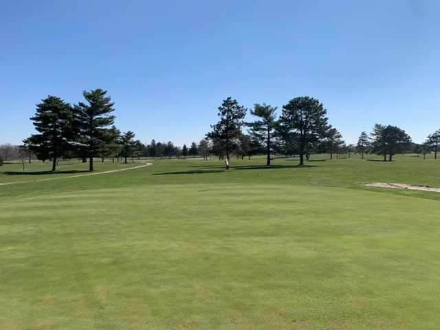 A view of hole #17 at Elks 797 Golf Club.