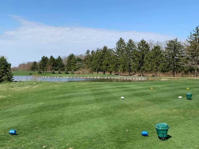 A view from tee #3 at Elks 797 Golf Club.