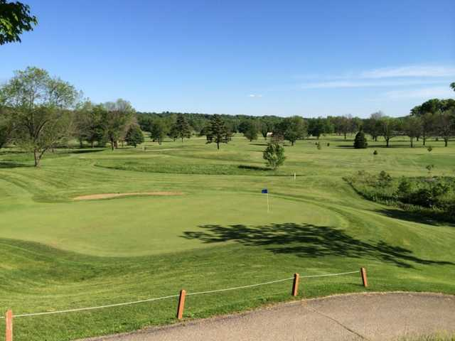 A view of a hole at Community Golf Course.