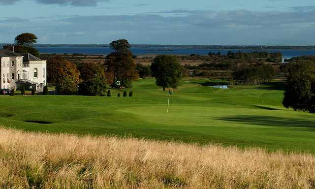 A view of a hole at Glenlo Abbey Golf Club.