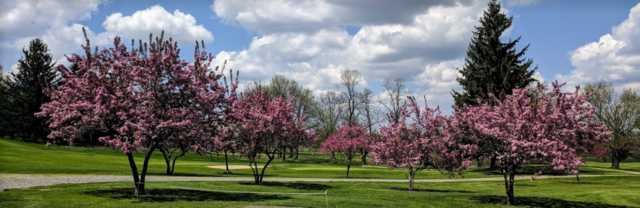 A view from Elms Country Club