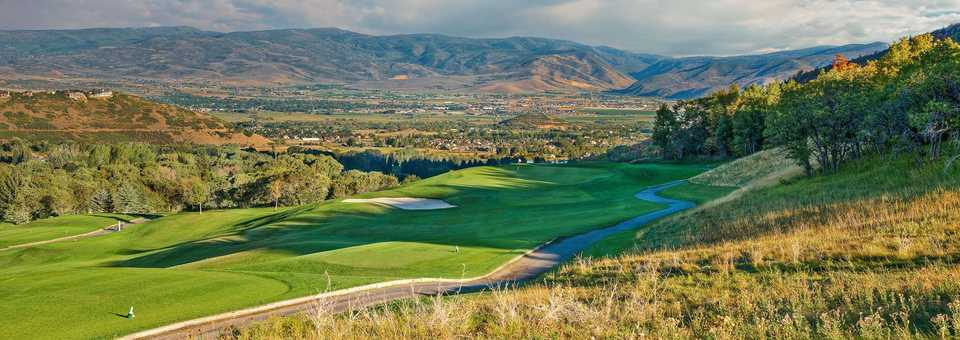 Wasatch Mt. State Park Golf Course - Mountain