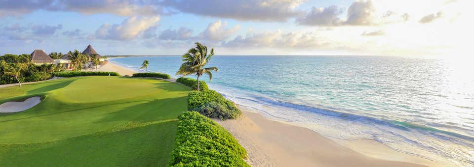 El Camaleon Mayakoba Golf Course.
