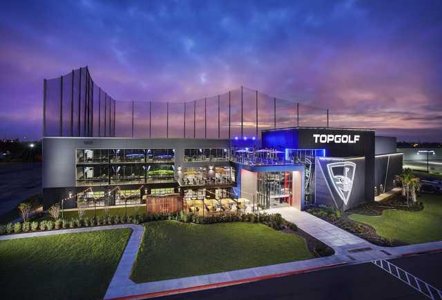 A view from Topgolf - Albuquerque