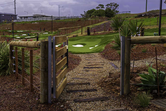 A view from Shanx Mini Golf at the Links Shell Cove